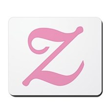 Z Initial Mousepad