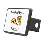 Fueled by Pizza Rectangular Hitch Cover