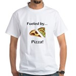 Fueled by Pizza White T-Shirt