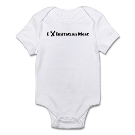 I Eat Imitation Meat Infant Bodysuit