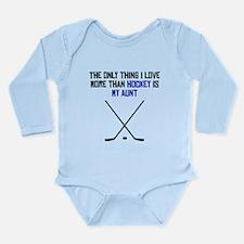 Hockey Aunt Body Suit