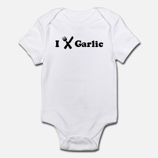 I Eat Garlic Infant Bodysuit
