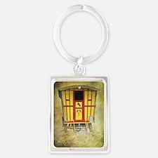 Romany Home Portrait Keychain