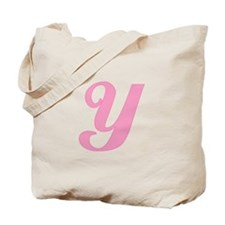 Y Initial Tote Bag