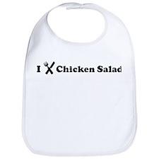 I Eat Chicken Salad Bib