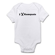 I Eat Kumquats Infant Bodysuit