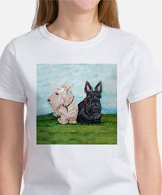 Scottish Terrier Companions T-Shirt