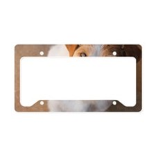 Russell Terrier License Plate Holder