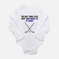 Hockey Daddy Body Suit