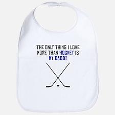 Hockey Daddy Bib