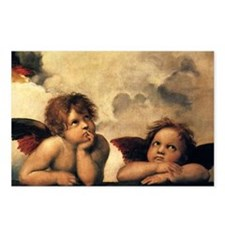 Angels by Raphael, Vintag Postcards (Package of 8)