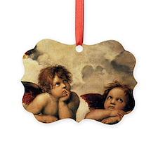 Angels by Raphael, Vintage Renais Picture Ornament
