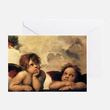 Angels by Raphael, Vintage Renaissan Greeting Card