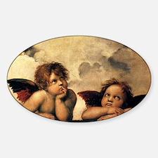 Angels by Raphael, Vintage Renaissa Decal
