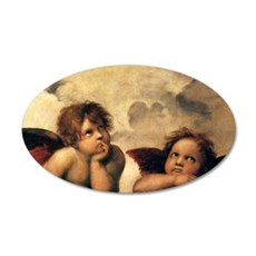 Angels by Raphael, Vintage R Wall Decal