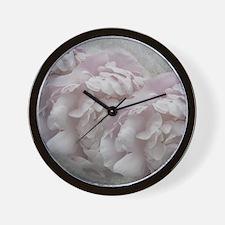 Petals and Lace Wall Clock