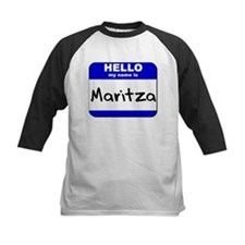 hello my name is maritza Tee