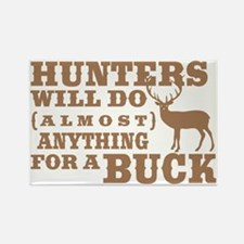 Deer Hunting Humor Rectangle Magnet