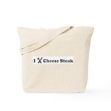 I Eat Cheese Steak Tote Bag