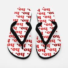 'Ho Ho Ho' Flip Flops