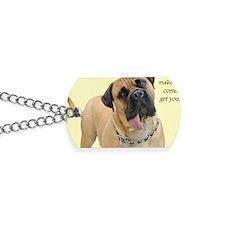 Mastiff Birthday Card Dog Tags