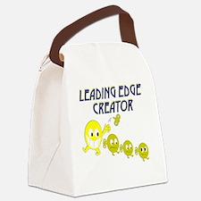 leading edge creator sm Canvas Lunch Bag