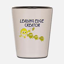 leading edge creator key rnd Shot Glass