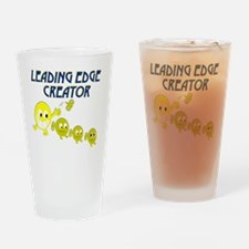 leading edge creator key rnd Drinking Glass