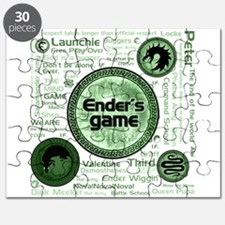 Green Ender's Game Collection Puzzle