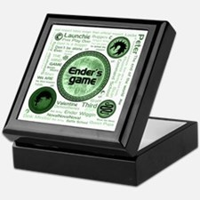 Green Ender's Game Collection Keepsake Box