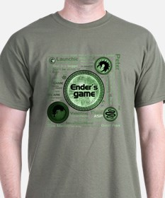 Green Ender's Game Collection T-Shirt