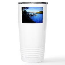 Lake Leatherwood Dock Travel Mug