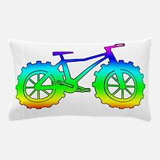 Rainbow fatbike Pillow Case