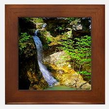 Eden Falls at Lost Valley Framed Tile