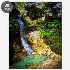Eden Falls at Lost Valley Puzzle