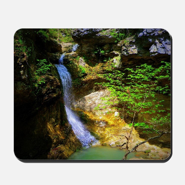 Eden Falls at Lost Valley Mousepad