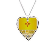 New Mexico Flag Necklace