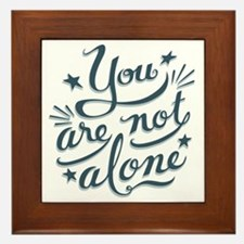 not-alone-LTT Framed Tile