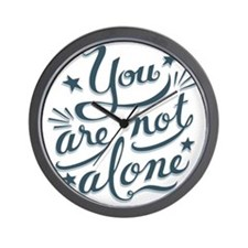 not-alone-LTT Wall Clock