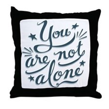 not-alone-LTT Throw Pillow