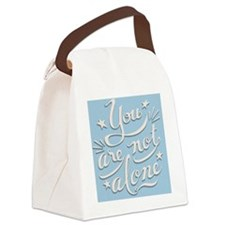 not-alone-PLLO Canvas Lunch Bag