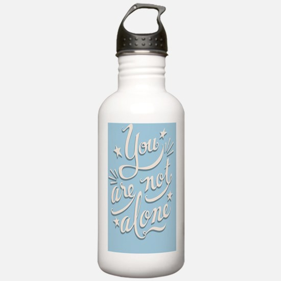 not-alone-CRD Water Bottle