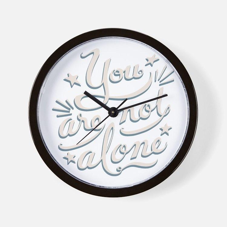 not-alone-DKT Wall Clock