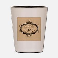 1943 Birthday Vintage (Rustic) Shot Glass