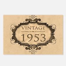 1953 Birthday Vintage (Ru Postcards (Package of 8)