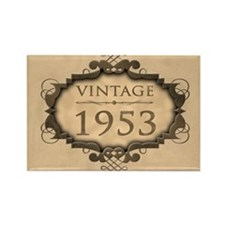 1953 Birthday Vintage (Rustic) Rectangle Magnet