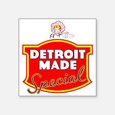 Detroit Made Sticker