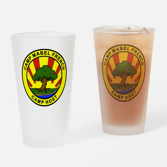 CAMP HOST 2 Drinking Glass