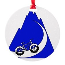 Fat Bike mountain Ornament