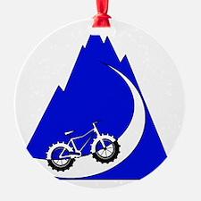 Fat Bike mountain Ornament